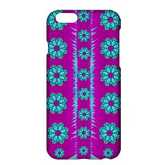 Fern Decorative In Some Mandala Fantasy Flower Style Apple Iphone 6 Plus/6s Plus Hardshell Case by pepitasart
