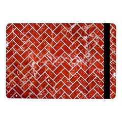 Brick2 White Marble & Red Marble Samsung Galaxy Tab Pro 10 1  Flip Case by trendistuff