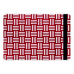 Woven1 White Marble & Red Leather Apple Ipad Pro 10 5   Flip Case by trendistuff
