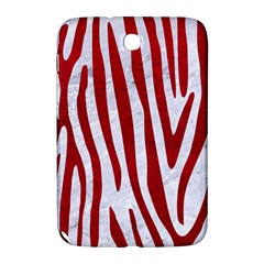 Skin4 White Marble & Red Leather Samsung Galaxy Note 8 0 N5100 Hardshell Case  by trendistuff