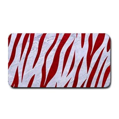 Skin3 White Marble & Red Leather (r) Medium Bar Mats by trendistuff