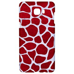 Skin1 White Marble & Red Leather (r) Samsung C9 Pro Hardshell Case  by trendistuff
