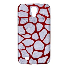 Skin1 White Marble & Red Leather Samsung Galaxy Mega 6 3  I9200 Hardshell Case by trendistuff