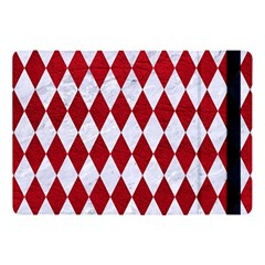 Diamond1 White Marble & Red Leather Apple Ipad Pro 10 5   Flip Case by trendistuff