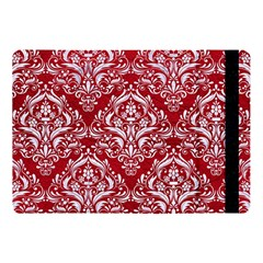 Damask1 White Marble & Red Leather Apple Ipad Pro 10 5   Flip Case