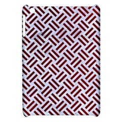 Woven2 White Marble & Red Grunge (r) Apple Ipad Mini Hardshell Case by trendistuff