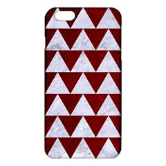 Triangle2 White Marble & Red Grunge Iphone 6 Plus/6s Plus Tpu Case by trendistuff