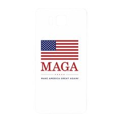 Maga Make America Great Again With Us Flag Samsung Galaxy Alpha Hardshell Back Case