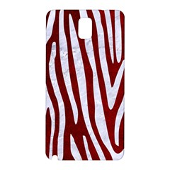 Skin4 White Marble & Red Grunge (r) Samsung Galaxy Note 3 N9005 Hardshell Back Case by trendistuff