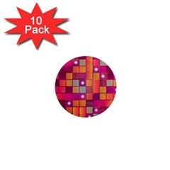 Abstract Background Colorful 1  Mini Magnet (10 Pack)