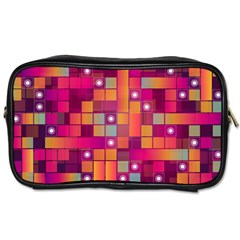 Abstract Background Colorful Toiletries Bags 2 Side by Sapixe