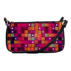 Abstract Background Colorful Shoulder Clutch Bags by Sapixe