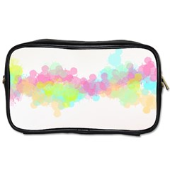 Abstract Color Pattern Colorful Toiletries Bags 2-side