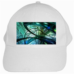 Abstract White Cap