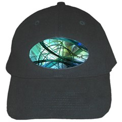 Abstract Black Cap