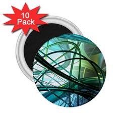 Abstract 2 25  Magnets (10 Pack)  by Sapixe