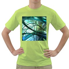 Abstract Green T Shirt