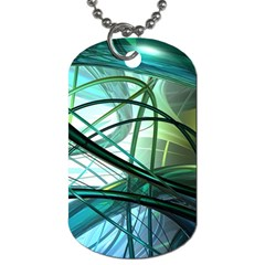 Abstract Dog Tag (one Side) by Sapixe