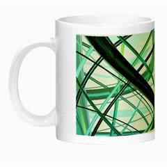 Abstract Night Luminous Mugs