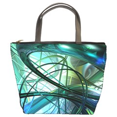 Abstract Bucket Bags