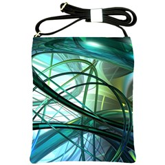 Abstract Shoulder Sling Bags by Sapixe