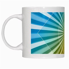 Abstract Art Art Radiation White Mugs