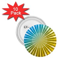 Abstract Art Art Radiation 1 75  Buttons (10 Pack) by Sapixe