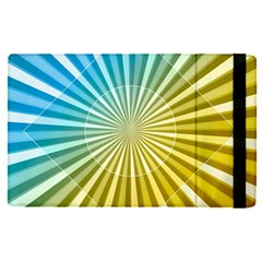 Abstract Art Art Radiation Apple Ipad Pro 12 9   Flip Case