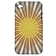 Abstract Art Art Modern Abstract Apple Iphone 4/4s Hardshell Case (pc+silicone) by Sapixe