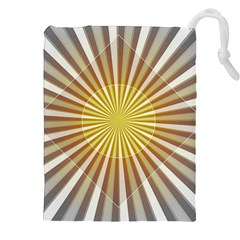 Abstract Art Art Modern Abstract Drawstring Pouches (xxl)