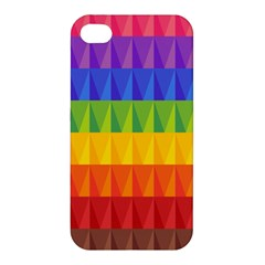 Abstract Pattern Background Apple Iphone 4/4s Hardshell Case