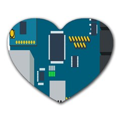 Amphisbaena Two Platform Dtn Node Vector File Heart Mousepads