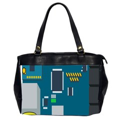 Amphisbaena Two Platform Dtn Node Vector File Office Handbags (2 Sides)  by Sapixe