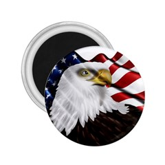 American Eagle Flag Sticker Symbol Of The Americans 2 25  Magnets