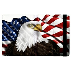American Eagle Flag Sticker Symbol Of The Americans Apple Ipad Pro 9 7   Flip Case by Sapixe