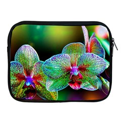 Alien Orchids Floral Art Photograph Apple Ipad 2/3/4 Zipper Cases