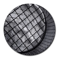 Architecture Roof Structure Modern Round Mousepads