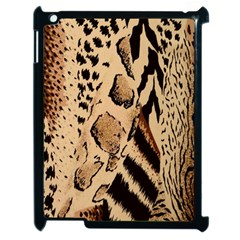 Animal Fabric Patterns Apple Ipad 2 Case (black) by Sapixe
