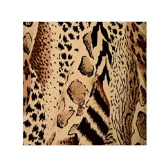 Animal Fabric Patterns Small Satin Scarf (square)