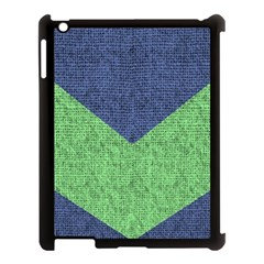 Arrow Texture Background Pattern Apple Ipad 3/4 Case (black) by Sapixe