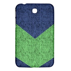 Arrow Texture Background Pattern Samsung Galaxy Tab 3 (7 ) P3200 Hardshell Case  by Sapixe
