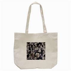 Army Camo Pattern Tote Bag (cream)