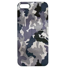 Army Camo Pattern Apple Iphone 5 Hardshell Case With Stand by Sapixe
