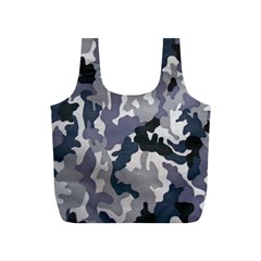 Army Camo Pattern Full Print Recycle Bags (s)