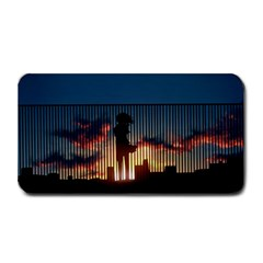 Art Sunset Anime Afternoon Medium Bar Mats by Sapixe