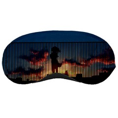 Art Sunset Anime Afternoon Sleeping Masks by Sapixe