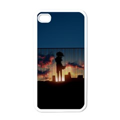 Art Sunset Anime Afternoon Apple Iphone 4 Case (white) by Sapixe