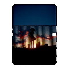 Art Sunset Anime Afternoon Samsung Galaxy Tab 4 (10 1 ) Hardshell Case