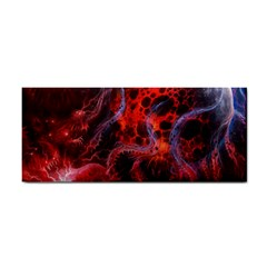 Art Space Abstract Red Line Cosmetic Storage Cases by Sapixe
