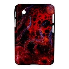 Art Space Abstract Red Line Samsung Galaxy Tab 2 (7 ) P3100 Hardshell Case